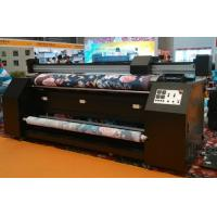 Wholesale 3.2m Width No Pinch Roller Fabric Inkjet Printer For Dye Sublimation Silk Cotton Polyester from china suppliers