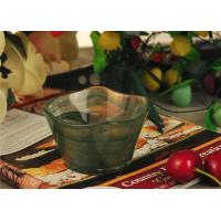 Wholesale Antique handmade decorative glass bowl candle holder Green material from china suppliers