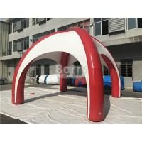 Quality Plato PVC Tarpaulins Inflatable Event Tent with Silk Printing For Outdoor Games for sale
