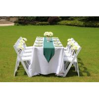 Wholesale high quality slat white wedding resin folding chair for sale from china suppliers
