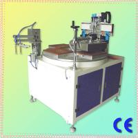 Wholesale CE Approved Chinese Single Color 4 Stations HS-350P Precise Flat Surface Screen Printer With Vacuum from china suppliers