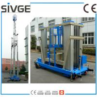 Wholesale Aluminum Alloy Vertical Man Lift , 20m Aerial Lift Platform For One Person from china suppliers