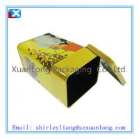 Wholesale fashional design rectangle coffee tin box from china suppliers