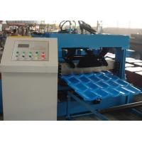 China Roof Tile Roll Forming Machine 22 Forming Stations For Metal Roof Panel on sale