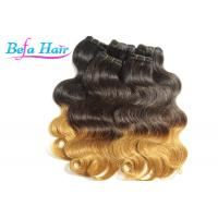 Wholesale Glam Peruvian 26 inch Ombre Remy Hair Extensions Weave With No Shedding from china suppliers