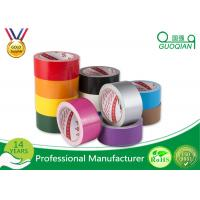 Wholesale Personalized Black Electrical Cloth Tape , Cool Fabric Duct Tape For Packing from china suppliers