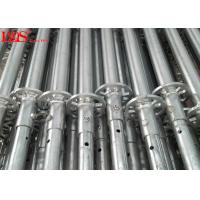 Wholesale Q235 / Q345 Ring Lock System / Quick Lock Scaffolding System Highly Damage Resistant from china suppliers