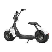 Wholesale EcoRider 60V 12Ah chinese Lithium Battery Citycoco 2 Wheel Electric Scooter , 18 Inch Fat Tyre Electric Scooter from china suppliers