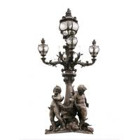 Wholesale European Style Cast Iron Light Pole Modern Design Outdoor For Garden from china suppliers