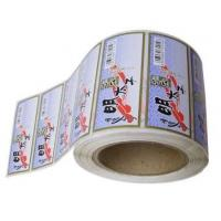 Wholesale Die Cut White PVC Self Adhesive Labels With Pantone Color Eco Friendly from china suppliers