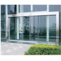 Wholesale Remote Control Automatic Sliding Glass Doors with wood or stainless Steel Frame from china suppliers