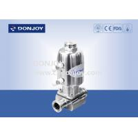 Buy cheap 316L SS Direct way Clamp Sanitary Diaphragm Valve with Stainless steel actuator from wholesalers