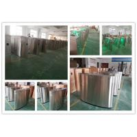Remote Control Flap Barrier Gate RFID Electronic Pedestrian Turnstiles