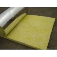 Wholesale 25 mm - 185 mm Thickness Glass Wool Blanket With Aluminum Foil Water Proof from china suppliers