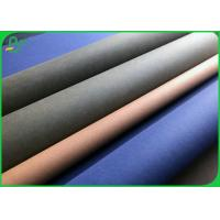 0.55 MM Fabric Material Untearable Washable Kraft Paper Roll For Making Tote Bag for sale