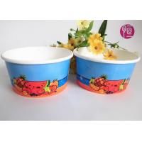 Wholesale 12oz Disposable Ice Cream Cups , custom printed ice cream containers from china suppliers