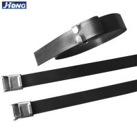 Buy cheap SS201 Metal Detectable Wire Ties , 16 Inch Stainless Steel Exhaust Ties from wholesalers