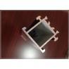 6063 T5 / T6 Structural Aluminum Profiles T Slot Square Hollow OEM 40 X 40 MM for sale