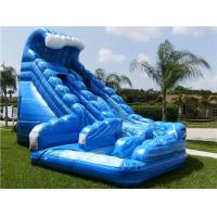 Wholesale Blue Huge Inflatable Whale Water Slide Comercial Dual Lane For Kids from china suppliers