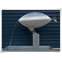 Wholesale Contemporary Fish Waterfall Metal Water Feature For Interior Or Garden Decoration from china suppliers
