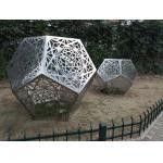 China Contemporary Metal Art Sculpture , Metal Garden Sculptures For Yard Decoration for sale
