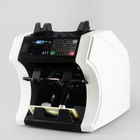 Wholesale Bank note professional two pocket bill banknote sorter money counter and cash currency sorter machine from china suppliers