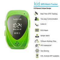 Wholesale 015 go everywhere smart wrist watch gps personal tracker for kids/old people with sos call from china suppliers