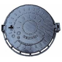 China Lockable Ductile Iron Manhole Cover Sewer Main Hole Cover For Road Drainage on sale