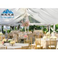 Wholesale 1000 Seater Wedding Event Tents With White PVC Walling 7.2M Ridge Height from china suppliers
