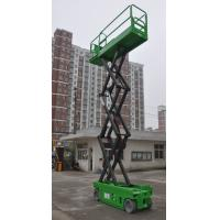 China Aerial Work Platform Self Propelled Scissor Lift 6m 8m 230kg Loading Capacity with Extension Table for sale