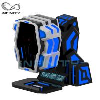Buy cheap 360 Degree Flight VR Motion Simulator / 9D Virtual Reality Roller Coaster Game from wholesalers