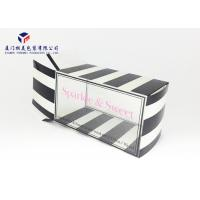 China Rectangle Shape Clear Front Window Custom Printed Clear PET Box 17.5*9.5*10cm for sale