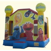 Wholesale Inflatable Sesame Street Bounce House Bouncer from china suppliers