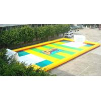 Wholesale Dry Land Inflatable Football Field , Inflatable Soccer Court with Water from china suppliers