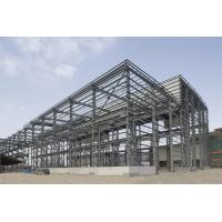 Prefab Industrial Steel Buildings With PKPM , 3D3S , X-steel Engineering Software for sale
