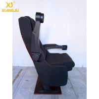 Buy cheap Foldable Armrest Tip Up VIP Cinema Seating With High Cushion PP Shell Economic from wholesalers