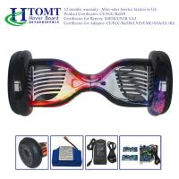 2017 HTOMT Remote control 2 wheels self balancing Samsung hoverboard with Bluetooth Red Blue