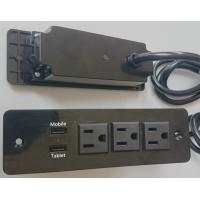 Wholesale 5V 2.4A & 1A  3 Way Desktop Power Outlet With Usb Charging For Tablet / Power Bank from china suppliers