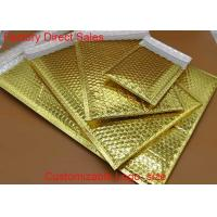 Wholesale Custom  Metallic Bubble Wrap Envelopes Rainbow With Light Bubble Linings from china suppliers
