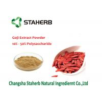 Wholesale Natural Barbary Male Enhancement Powder , Gojiberry Wolfberry Fruit Extract from china suppliers