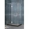 Square Frameless Glass Shower Doors Tempered Glass Shower Doors 8MM Tempered Glass for sale