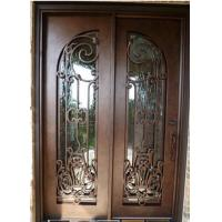 Wholesale Wrought Iron Entry Door Designs For House home exterior doors from china suppliers