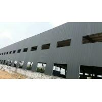 China White Color Poultry Farm Structure With Steel Sheets Cladding For Goods Storage for sale