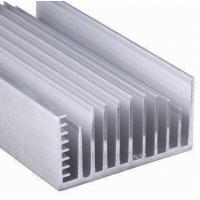 Wholesale Clear Anodized 6063-T5 Aluminum LED Heat Sink Extrusion Profiles With Tapping , Stamping from china suppliers