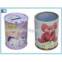 Wholesale round coin tin box from china suppliers