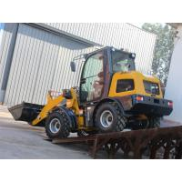 Wholesale Hydraulic small wheel loader with quick hitch front end loader cheap price from china suppliers
