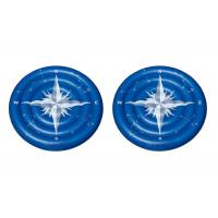 Wholesale Giant Summer Compass Rose Glowing Inflatable Swimming Pool Toys / Lake Floats And Loungers from china suppliers