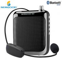 Wholesale 2018 NEWGOOD Bluetooth 2.4Ghz Wireless Headset Microphone Voice Amplifier Loudspeaker for Classroom,School,Yoga,Coach from china suppliers