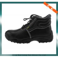 Wholesale Ce Certification Black Steel Toe Safety Shoes from china suppliers