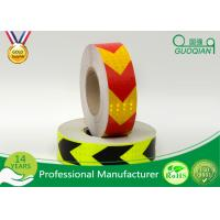 Wholesale Red / Orange Fluorescent Retro Reflective Tape Adhesive Warning Tape 5 Cm Width from china suppliers